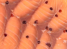Salmon background Stock Photos
