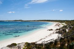 Salmon Bay - Rottnest Island Stock Photo