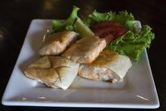 Salmon Belly rôti Photo stock