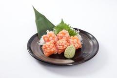 Salmon Belly Sashimi Imagens de Stock