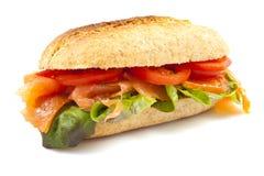 Salmon bun Royalty Free Stock Images
