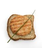 Salmon Burger Royalty Free Stock Image