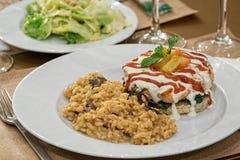 Salmon burger Stock Images