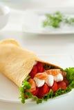 Salmon Burrito Stock Images