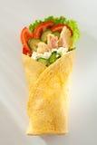 Salmon Burrito Stock Photos