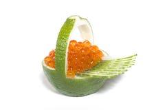 Salmon caviar Stock Image