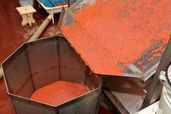 Salmon caviar Stock Photos