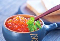 Salmon caviar Royalty Free Stock Image