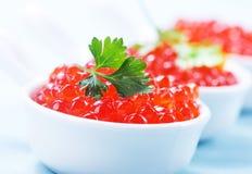 Salmon caviar Royalty Free Stock Images