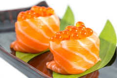 Salmon caviar Stock Photography