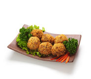 Salmon Croquette Royalty Free Stock Photo