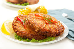 Salmon Croquettes royalty free stock image