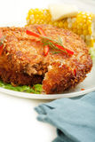 Salmon Croquettes Royalty Free Stock Photography