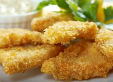 Salmon croquettes Stock Image