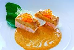 Salmon Curry Arkivbilder