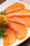 Salmon cut Royalty Free Stock Image