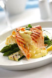 Salmon Dinner Royalty Free Stock Images
