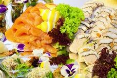 Salmon dish Stock Photos
