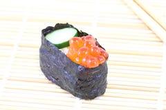 Salmon Egg Sushi Royalty Free Stock Images