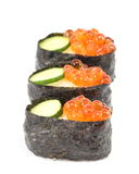 Salmon Egg Sushi Royalty Free Stock Photography