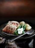 Salmon en Croute Royalty Free Stock Image