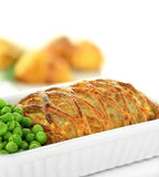 Salmon en croute Royalty Free Stock Images