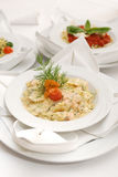 Salmon Farfalle Royalty Free Stock Image