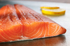 Salmon filet Stock Photo