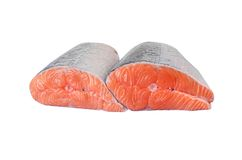 Salmon filet Royalty Free Stock Photos