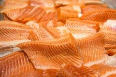 Salmon filet Stock Photography