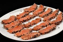 Salmon filet. Royalty Free Stock Photos
