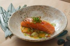 Salmon filet Stock Photos