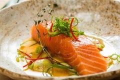 Salmon filet Royalty Free Stock Photo