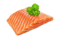 Salmon - filet - steak Royalty Free Stock Image