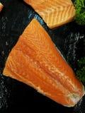 Salmon Fillet Imagenes de archivo