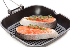 Salmon fillet stock images