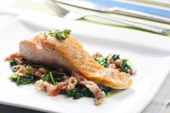 Salmon Fillet Fotografie Stock