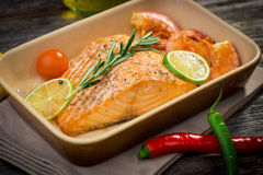 Salmon Fillet Stockbilder