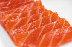 Salmon Fillet Royaltyfria Bilder