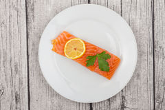 Salmon Fillet foto de stock royalty free