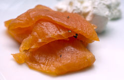 Salmon Fillet Royaltyfri Bild