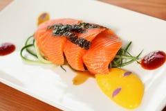 Salmon Fillet Royalty-vrije Stock Fotografie