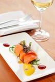 Salmon Fillet Stock Foto