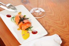 Salmon Fillet Royalty-vrije Stock Afbeeldingen