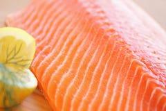 Salmon Fillet Stock Afbeelding