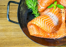 Salmon Fillet photos libres de droits