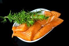 Salmon Fillet Images libres de droits