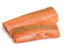 Salmon fillet Stock Photos