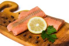 Salmon fillet Royalty Free Stock Image