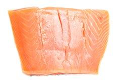Salmon fillet on white Stock Photos